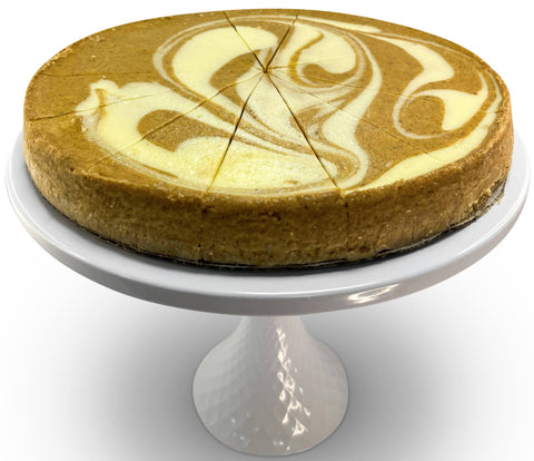 "Andy Anand Sugar Free Pumpkin Spiced Cheesecake 9"" - 2 lbs"