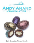 Andy Anand Jewel Colors Dark Chocolate Jordan Almonds - 1 lbs