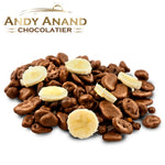 Andy Anand Belgian Milk Chocolate covered Banana Chips