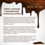 Andy Anand French Macarons 12 Pcs Dipped in Dark Chocolate