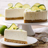 "Andy Ananad Sugar Free Key Lime Cheesecake 9"" - 2 lbs"