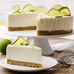 "Andy Anand Key Lime Cheesecake 9"" - 2 lbs"