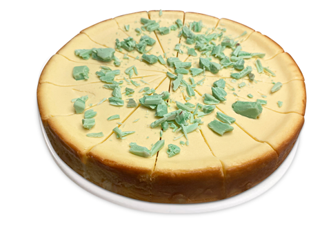 "Andy Anand Chocolate Key Lime Cheesecake 9"" - 2 lbs"
