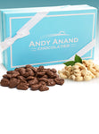 Andy Anand Belgian Milk Chocolate Covered Cashews with Sea Salt
