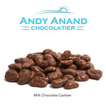 andyanand - Belgian Milk Chocolate Covered Cashews with Sea Salt - Andyanand - Milk Chocolate