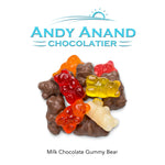 andyanand - Milk Chocolate Covered Gummy Bear - Andyanand - Milk Chocolate