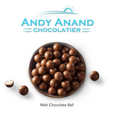 Andy Anand Belgian Dark Chocolate Triple Dipped Malt Balls - 1 lbs