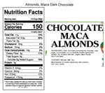 Andy Anand Dark Chocolate Maca Ginseng Almonds