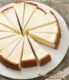 "Andy Anand New York Cheesecake 9"" - 4 lbs"