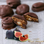Andy Anand Dark Chocolate covered Figs with Sea Salt - 1 lbs
