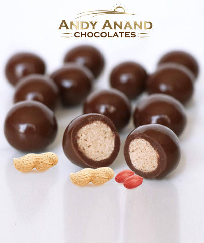 Andy Anand Milk Chocolate Peanut Butter Malt Balls - 1 lbs