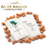 Andy Anand Orange Cream Almonds in smooth white chocolate - 1 lbs
