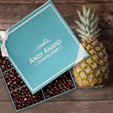Andy Anand Dark Chocolate coated Pineapple