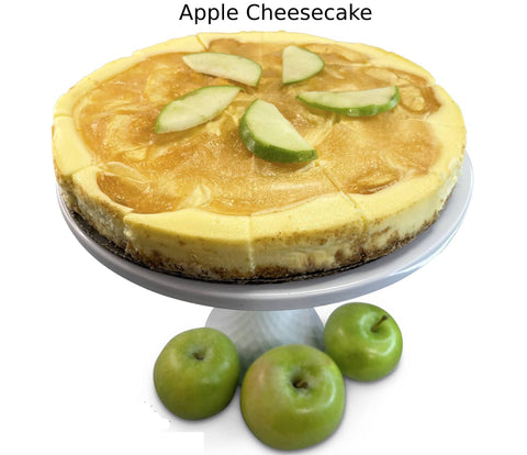 "Andy Anand Sugar Free Apple Cheesecake 9"" - 2 lbs"