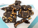 Andy Anand Sugar Free Dark Chocolate Pretzel Bark - 1 lbs