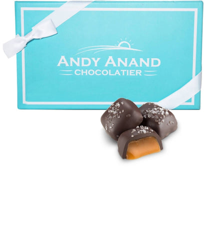 Andy Anand Sugar Free Dark Chocolate Caramel with Sea Salt