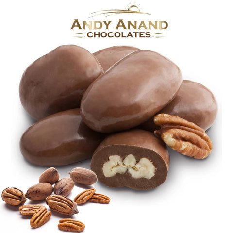 Andy Anand Sugar Free Milk Chocolate Pecans - 1 lbs