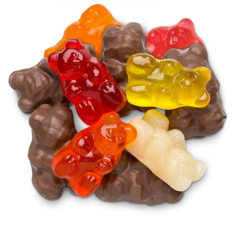 Andy Anand Sugar Free Belgian Milk Chocolate Gummy Bear - 1 lbs
