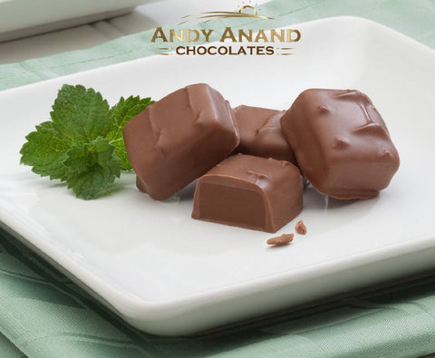 Andy Anand Bridge Of Mint, Peanut Butter & Caramel Meltaway - 1 lbs