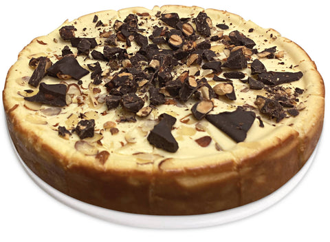 "Andy Anand Sugar Free Chocolate Almond Cheesecake 9"" - 2 lbs"