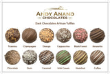 Andy Anand Delectable Handmade Artisan Truffles 16 Pieces