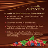 andyanand - Vegan Dark Chocolate Covered California Cherries - Andyanand - Dark Chocolate