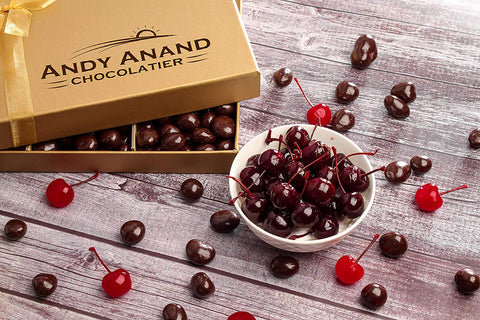 andyanand - Dark Chocolate Covered Cherries - Andyanand - Dark Chocolate