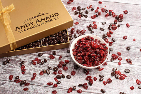 andyanand - Chocolate covered California Cranberries - Andyanand - Milk Chocolate