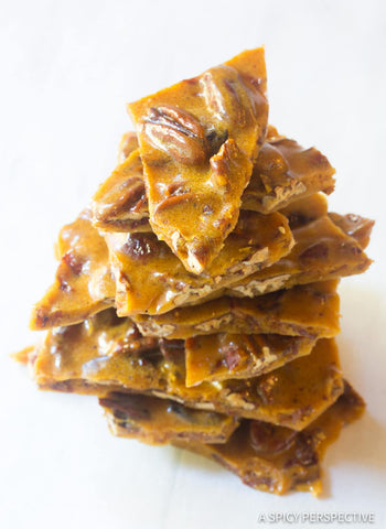 Andy Anand Sugar Free Old Fashioned Pecan Brittle - 1 lbs