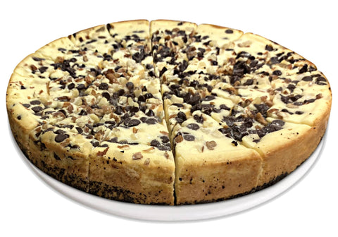 "Andy Anand Turtle Cheesecake 9"" with Chocolate Chip, Nuts & Caramel - 2 lbs"