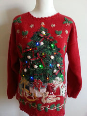 Lighted - Light up Ugly Christmas Sweaters