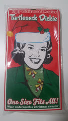 Turtleneck Dickie Candycanes (FREE SHIPPING IN USA)