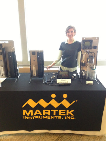 Rebekah with Martek products