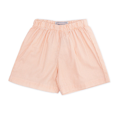Boys Shorts- Creamsicle