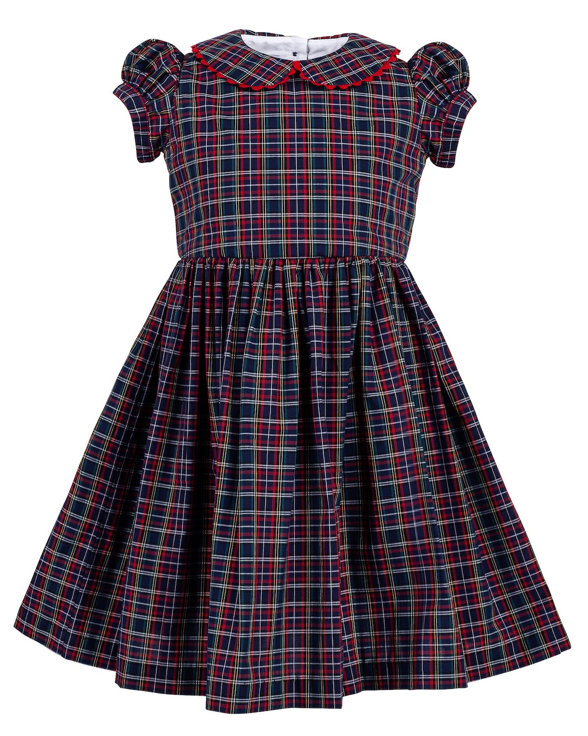 Georgie Dress, Highland Plaid