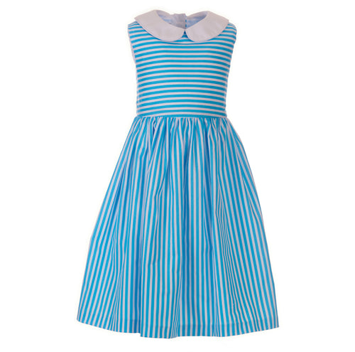 Ellie Dress, Seaview Stripe