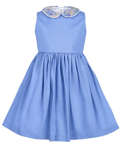 Ellie Dress, Hydrangea Blue
