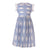 Keating Dress, Blue Line
