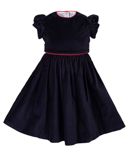 Georgie Dress, Midnight Velvet
