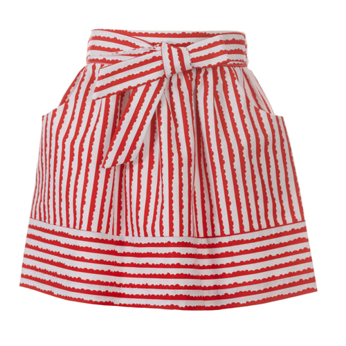 Weatherly Skirt, Sunnybrook Stripe