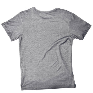 MEN'S S/S PRINTED TEE - CHARCOAL GREY / SURF - Export Mall Online Store Sale