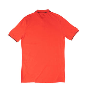 MEN'S S/S TIPPING POLO - RED - Export Mall Online Store Sale
