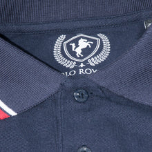 Load image into Gallery viewer, MEN'S S/S POLO-Navy TIPPING-1019 - Export Mall Online Store Sale