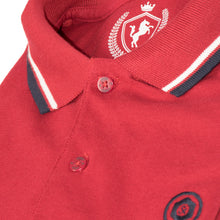 Load image into Gallery viewer, MEN'S S/S POLO-RED TIPPING-1019 - Export Mall Online Store Sale