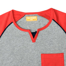 Load image into Gallery viewer, MEN'S SS REGLAN-Grey/Red-EMSS20KM-1007 - Export Mall Online Store Sale