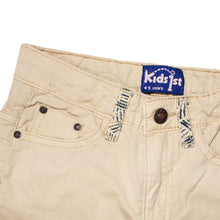 Load image into Gallery viewer, GIRL'S TWILL PANT - CAMEL - Export Mall Online Store Sale