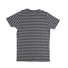 Load image into Gallery viewer, MEN'S S/S TEE-NAVY / OAT MEAL-1008 - Export Mall Online Store Sale