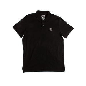 Men's S/S Polo-Black-1017 - Export Mall Online Store Sale