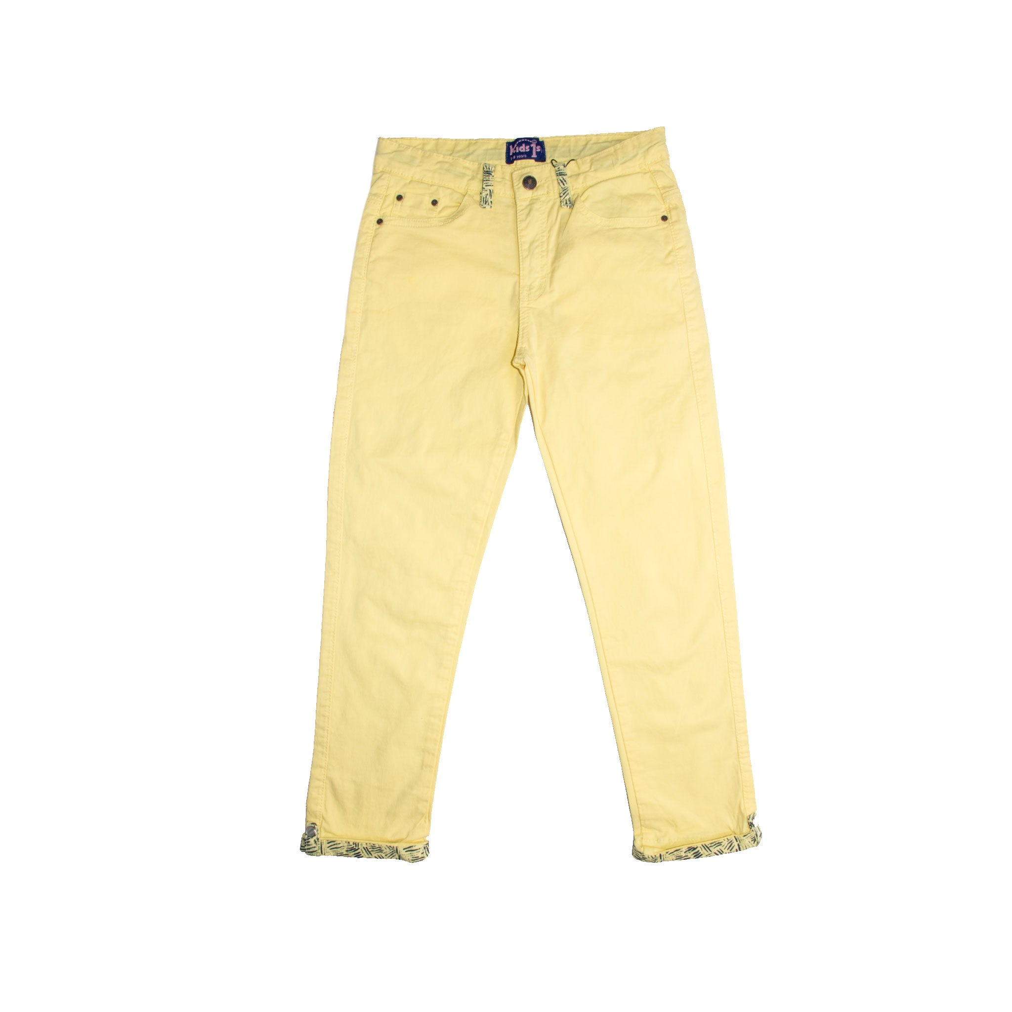 GIRL'S PANT- Yellow - Export Mall