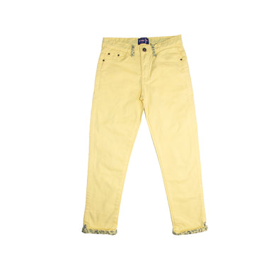 GIRL'S PANT- YELLOW - Export Mall Online Store Sale